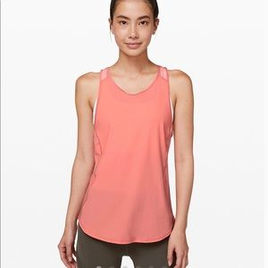 Lululemon Sculpt Tank Light Coral Size 8 New